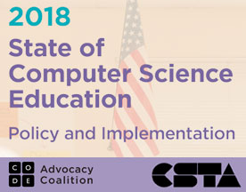 2018 State of  Computer Science Education