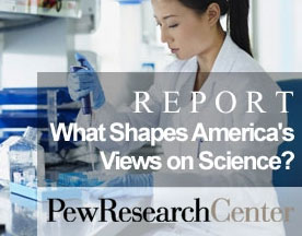What shapes America's views on science?