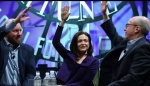 Embedded thumbnail for Sheryl Sandberg and Marc Andreessen on the Future of Mobile, Income Inequality, and Tech Trends