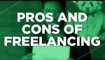 Embedded thumbnail for Pros And Cons Of Freelancing